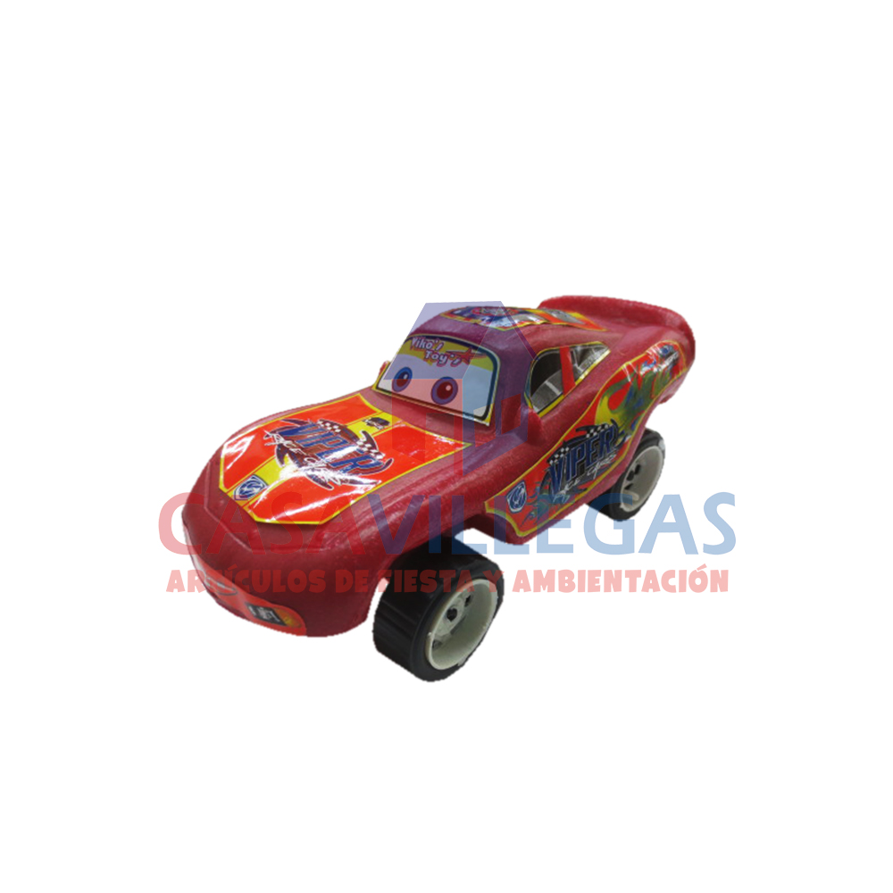 Carro Rayo Monsters  1 pza.
