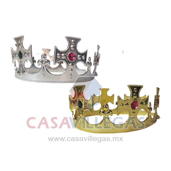 corona de rey plastica casa villegas