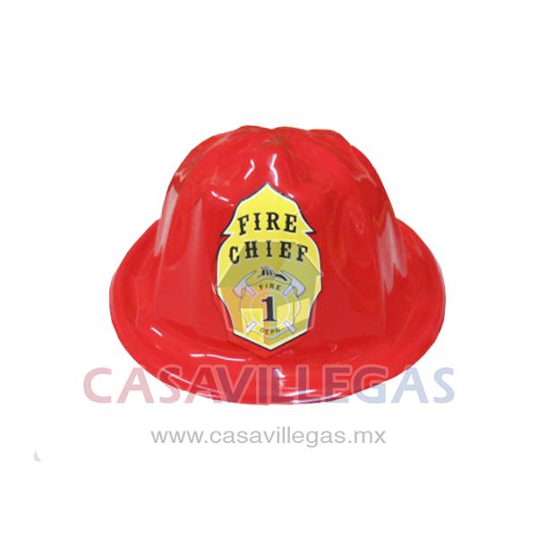 Casco Bombero Plastico Rojo ad2c97a47bf