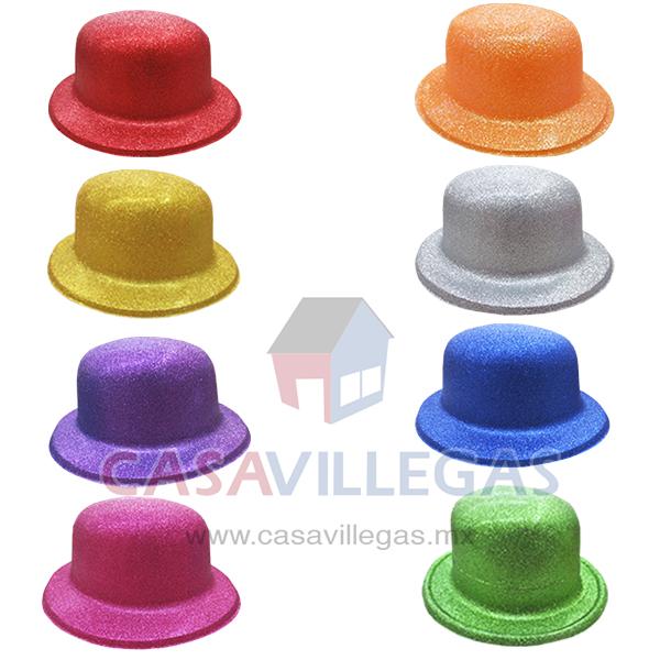 Sombrero Bombin Escarchado 03453d0d04e7