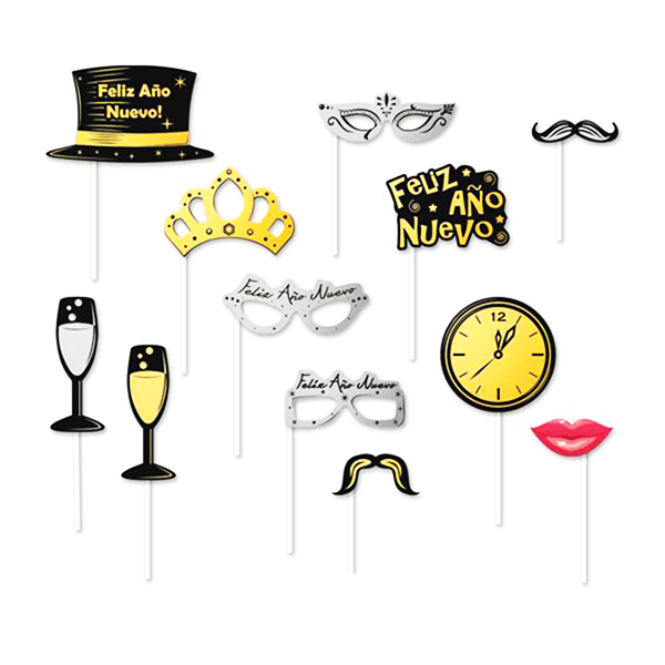 Accesorio Para Fotos New Years