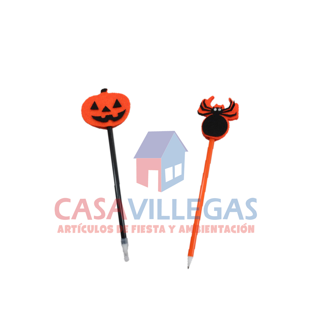 Pluma Decorada Halloween