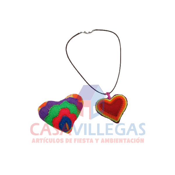 Corazon Bordado Chiapas