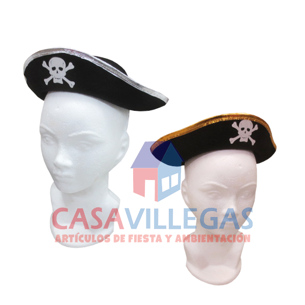 Gorro Pirata Chico 1 pza.
