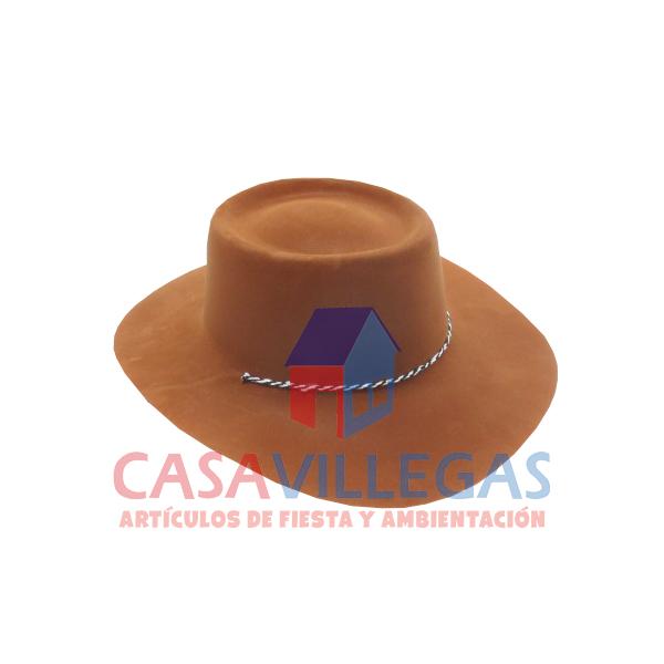 047944bec8c49 Sombrero Vaquero Terciopelo Cafe