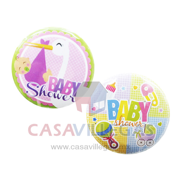 Pin Metalico Baby  Shower