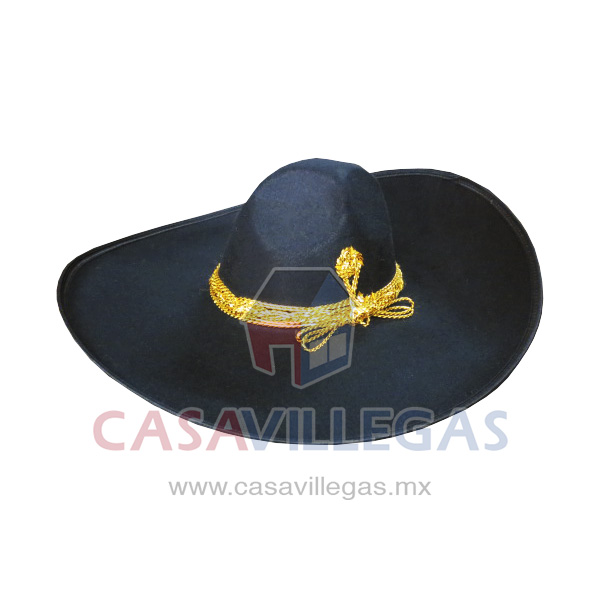 Sombrero Charro Toquilla Dorado N.15 976eb35db82